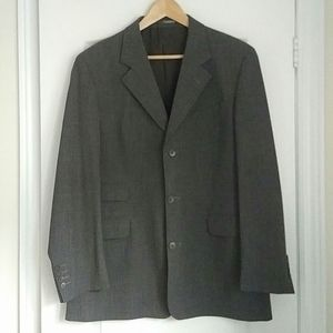 YSL - classic gray wool blazer